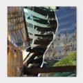 Canvasdoek-100-x-100-Sailing-achtergrond