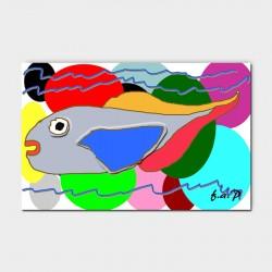 Canvasdoek-120-x-80-cm.-Fish-achtergrond