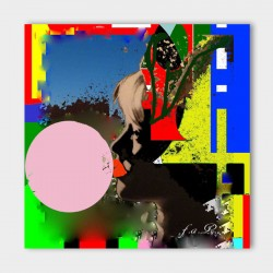 Canvasdoek-Bubblegum-achtergrond
