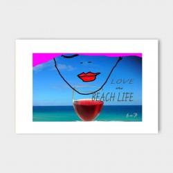 canvasdoek-120x80-beachlife-achtergrond