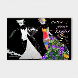 canvasdoek-color-your-life-achterwand