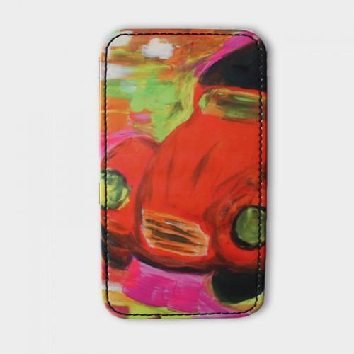 iPhone-4-hoesje-leer-Car