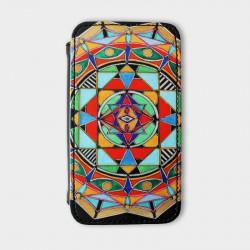 iPhone-4-hoesje-leer-Mandala