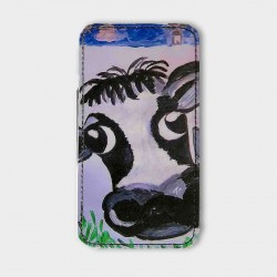 iPhone-hoesje-leer-Cow