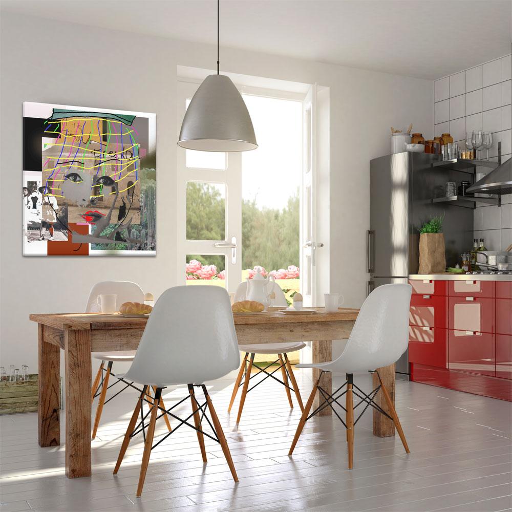 Decoratie muurdecoratie woonhuis schilderij woonkamer kantoor - Decoratie kantoor ...